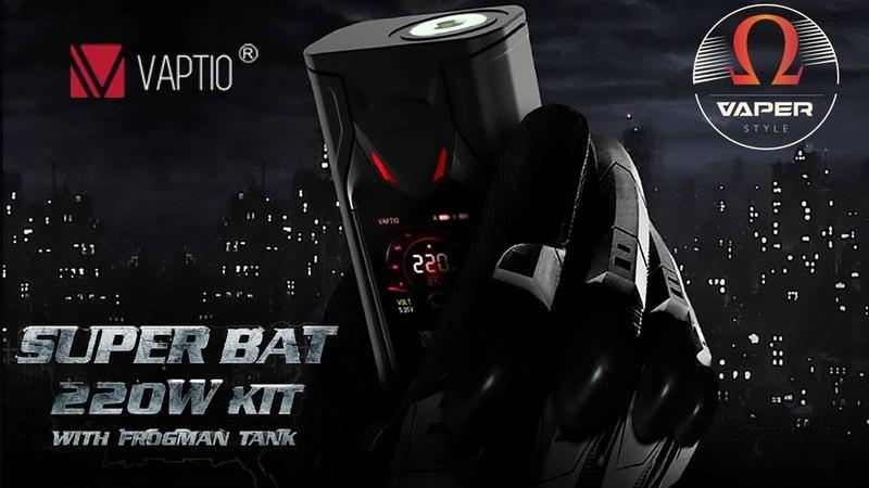 Vaptio Super Bat 220W TC Kit