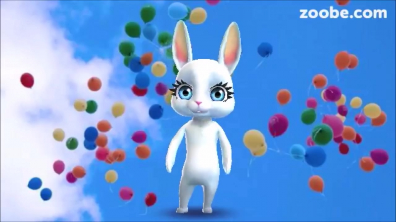 Zoobe Зайка С днем рождения!