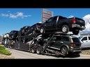 AUTO TRANSPORT CARRIER 04 -- Chrysler, Dodge, Jeep, RAM. Real Time Unload: 32 Min.
