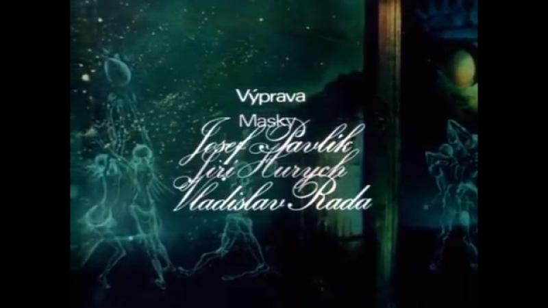 Panna a Netvor - Opening (Petr Hapka - Titulní varhany) - 1978