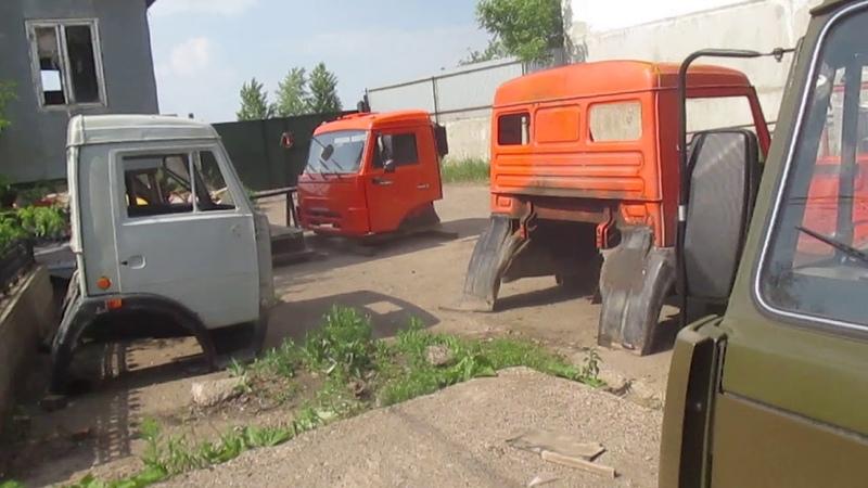 Кабина КАМАЗ 5320 для глава КФХ Сыроваткин