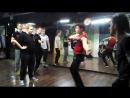 Электр-ночь в студии LBE 18-11-17 часть 8. Дружеский батл вторая половина Паша vs Настя