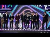 [VIDEO] 171202 EXO - Best Dance Male Award @ Melon Music Awards 2017