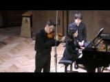 М. Равель  Рапсодия Цыганка, исп. Криштоф Барати (скрипка), Венгрия Рина Харрасова (фортепиано)