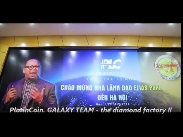 PlatinCoin GALAXY TEAM the diamond factory ‼