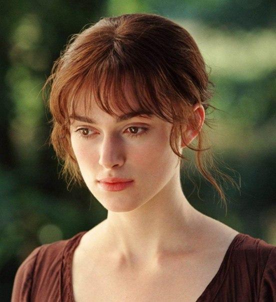 Элизабет Беннет (Кира Найтли, «Гордость и предубеждение» 2005)