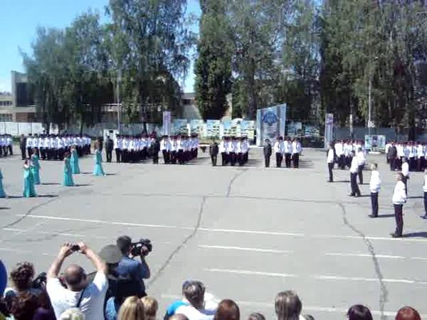 Вальс кадетов 2018 Украина Сумы