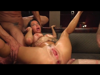 Veronica Avluv / Gangbang, Fetish, Deepthroat, Double Pussy, Double Anal, Fisting, Squirt, Gokkun, Cum In Mouth