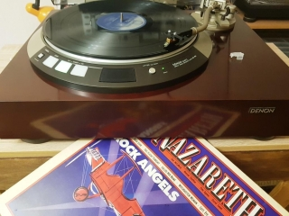 ADC SUPER XLM MKⅡ\ DENON DP-60L\ Luxman L-510. Nazareth – Reflection - Rock Angels
