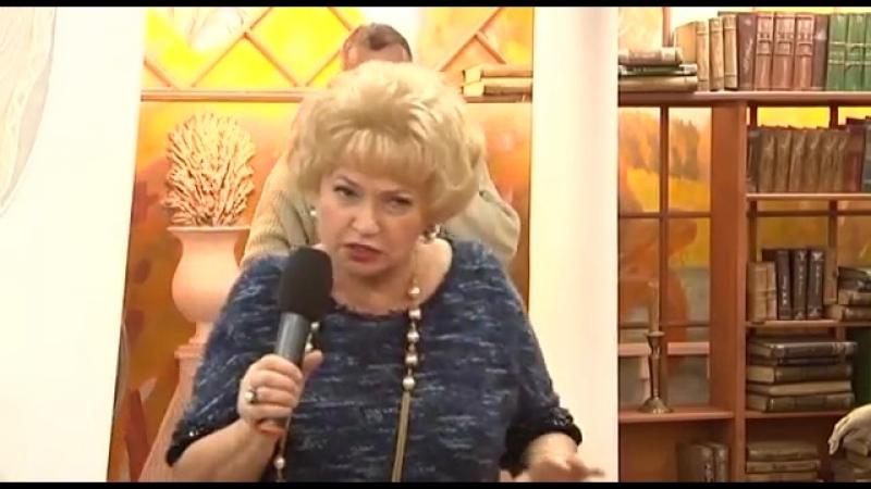 Нарусова в Библио-Глобусе 2015, презентация книги