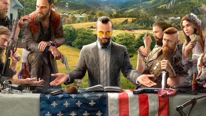Far Cry 5 – сюжетный трейлер про фанатика-ебанатика