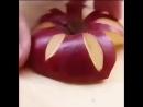Карвинг с яблоками