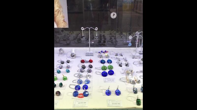 Витрина Amante crystal