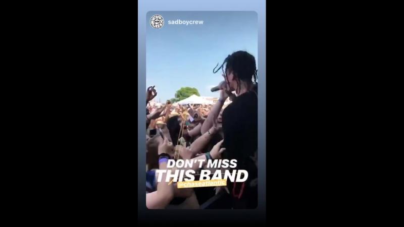 Instagram Story Chase Atlantic 22/07/18