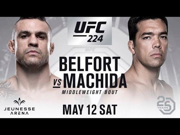 UFC 3 Виктор Белфорт против Лиото Мачиды ea sports BELFORT vs MACHIDA ufc 224