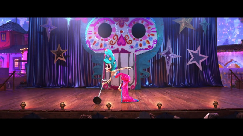 ENG   Отрывок мультфильма Pixar «Тайна Коко — Coco». Battle of the Bands. 2017.