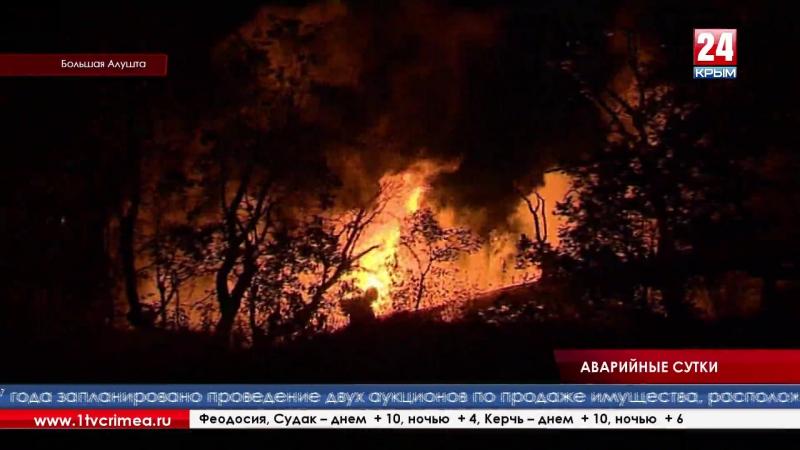 Аварийно восстановительные работы на поврежденных участках в районе газораспределительных станций населенных пунктов ЮБК заверше