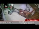 Detenido por secuestro se arrojó por escaleras