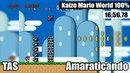 TAS KAIZO MARIO WORLD 100 in 1656.78 by Amaraticando