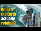 EQUATORIAL BULGE WHAT IF THE EARTH ACTUALLY ROTATED