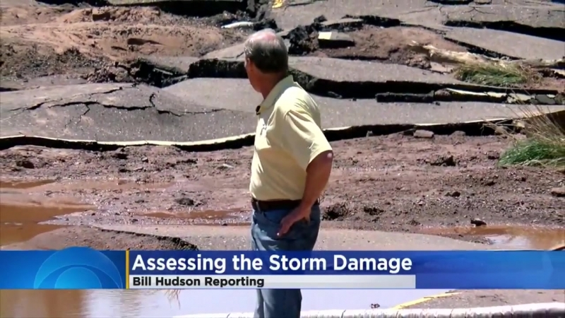 Duluth-Superior Area Roads Washed Away In Flooding
