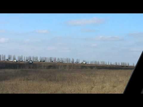 Боевые вертолеты возле белгорода