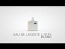 Lacoste Eau De L-12-12 Blanc Men EDT 100ml (For Men)