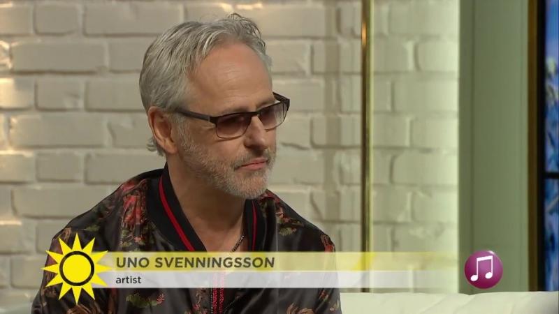 Uno Svenningsson fortsätter att tolka andra_ Många tycker att min röst passar ti
