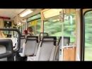 Поездка на трамвае Tatra KTNF6 по линии Берлин Шёнайхе