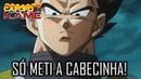 SÓ METI A CABECINHA! (VEGETA) DRAGON BALL SUPER