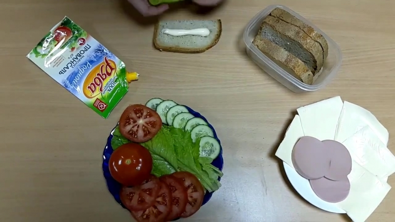Our cooking show. hostel cuisine