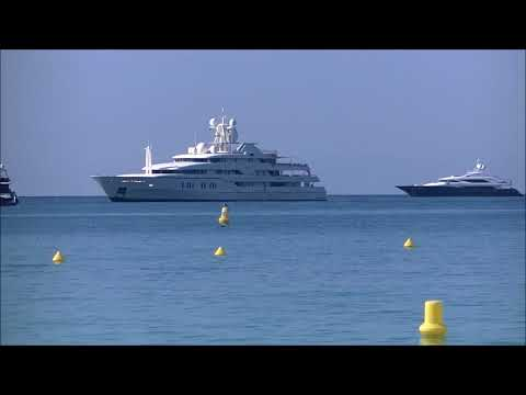 The AMAZING US$ 110,000,000 SUPER YACHT MONTKAJ in Cannes