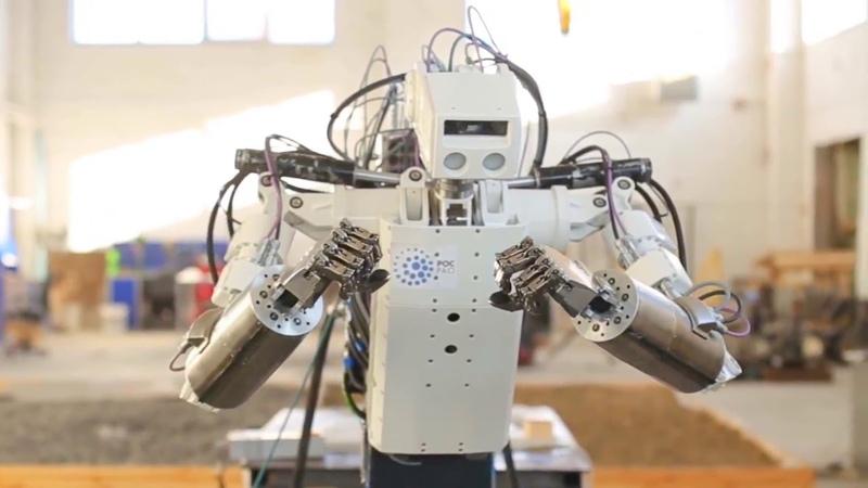 Мобильный Роботизированный манипулятор МРМ-100