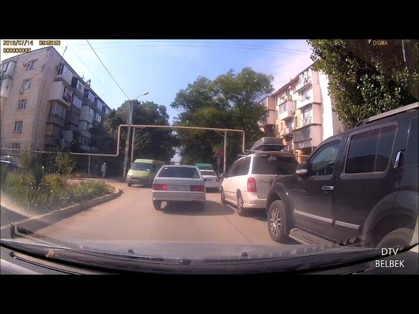 обстановка на дорогах Бельбека 11 15 июля 2018г Видео обзор
