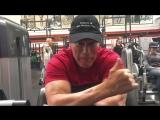 Арнольд в Gold's Gym (30 мая 2018)