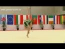 Ирина Анненкова - обруч многоборье МТ 2018 Люксембург