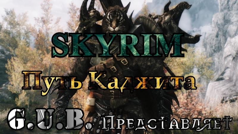 SKYRIM Путь котейки Василия Продолжение 5 в 20 30 по МСК