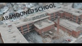 Above the Abandoned Woonsocket Middle School USA