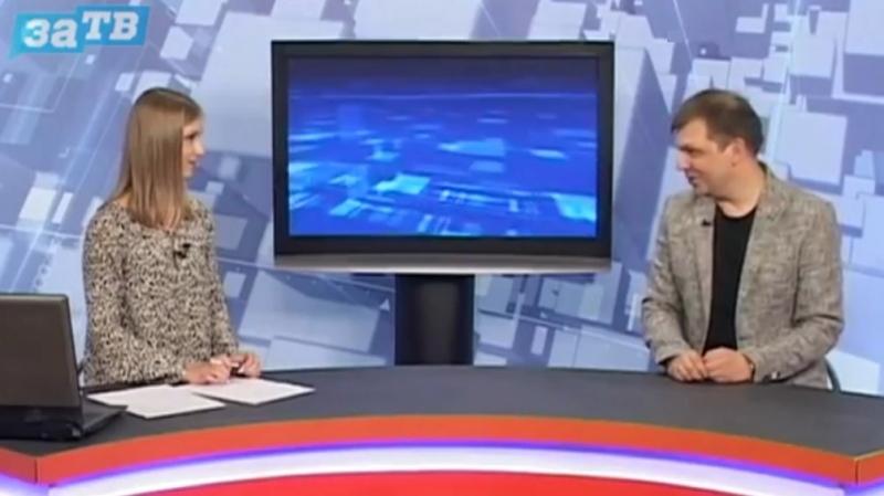 В К Ионайтис гость студии Новости Заречного