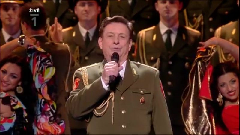 Aleksandrov Red Army Choir on Eurovision Song Contest 2009 Moscow HQ