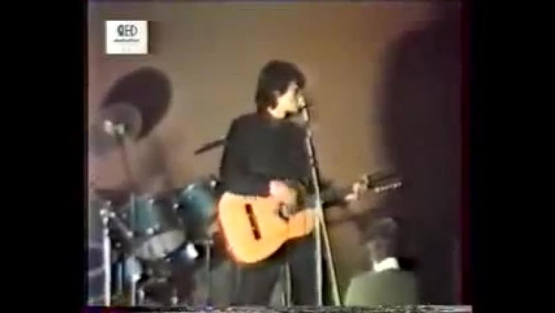 ✩ Транквилизатор 30 спецшкола 1984 Виктор Цой группа Кино