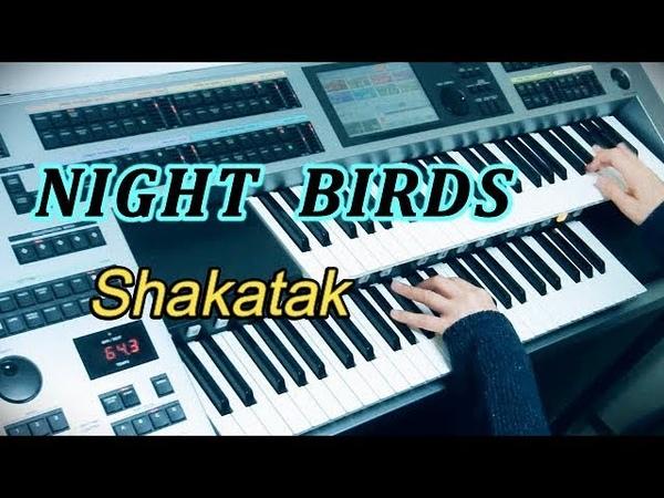 ナイト・バーズ Night Birds / シャカタク Shakatak ★エレクトーンELS02C