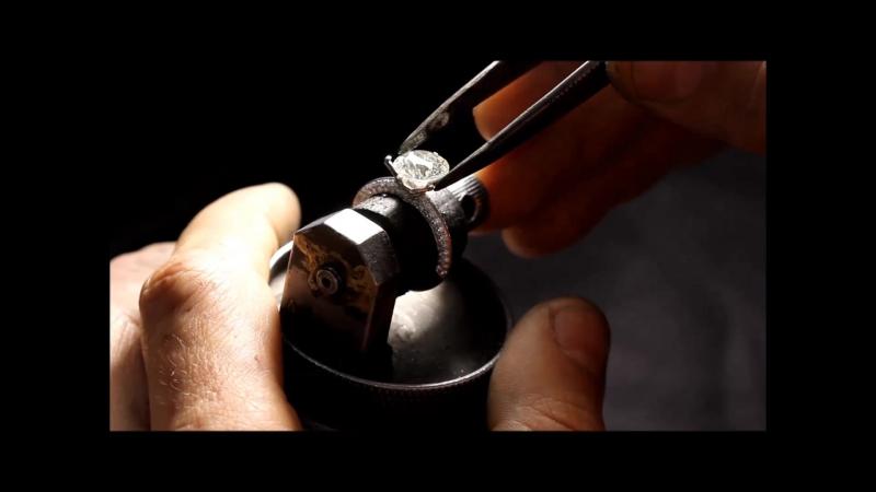Закрепка бриллианта 3 карата
