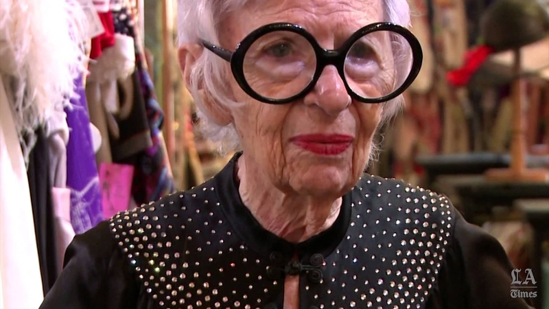 Iris Apfel searches Way We Wore for next totally mad fashion find