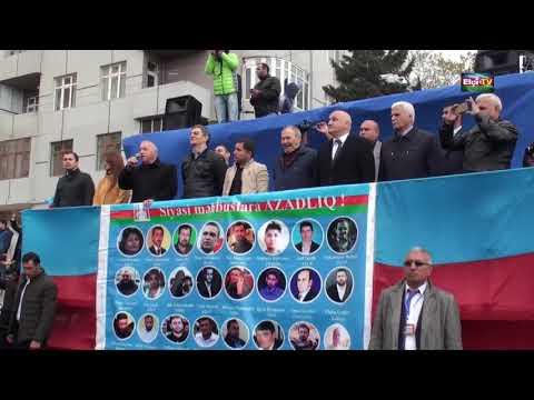 14 aprel 2018 MİTİNQİ: Ədiliyyə generalı Vidadi Mirkamal