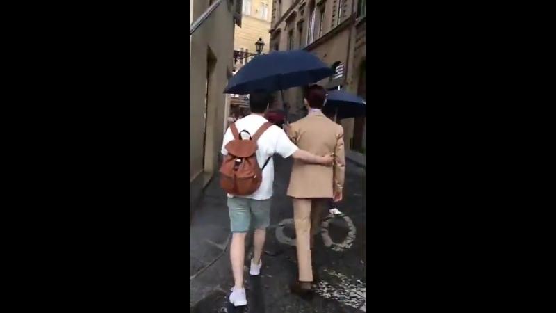 13.06.2018 Чанмин во Флоренции (cr. ShimShim_Satoshi)