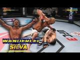 ВАНДЕРЛЕЙ СИЛЬВА (WANDERLEI SILVA) ломает ГОЛОВЫ в UFC 3 ! БЕЗУМНЫЙ НОКАУТ! EA SPORTS UFC