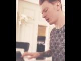 Никита Пресняков Adele - Skyfall (Piano Cover) часть 1