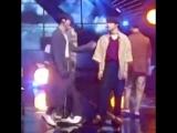 Jungkook calling jimin-shi with that voice walking towards jimin and grab his neck