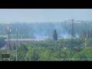 26 мая 2014 года г Донецк Бои за международный аэропорт Донецк им Сергея Прок